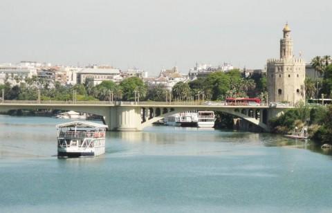 Paseo en barco por Sevilla