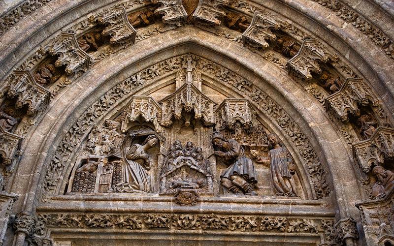 Puerta de San Miguel de la Catedral de Sevilla