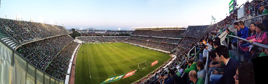 Estadio Benito Villamarín, el campo del Betis