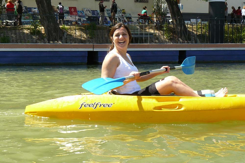 Tour en kayak por Sevilla