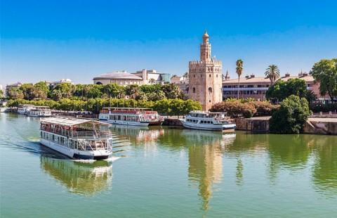 Flussfahrten auf dem Fluss Guadalquivir