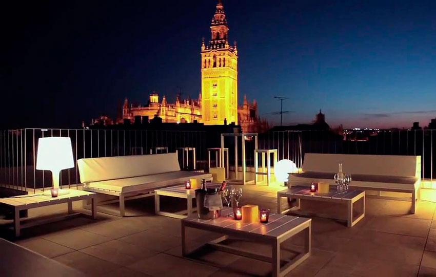 Hotel con vistas en Sevilla
